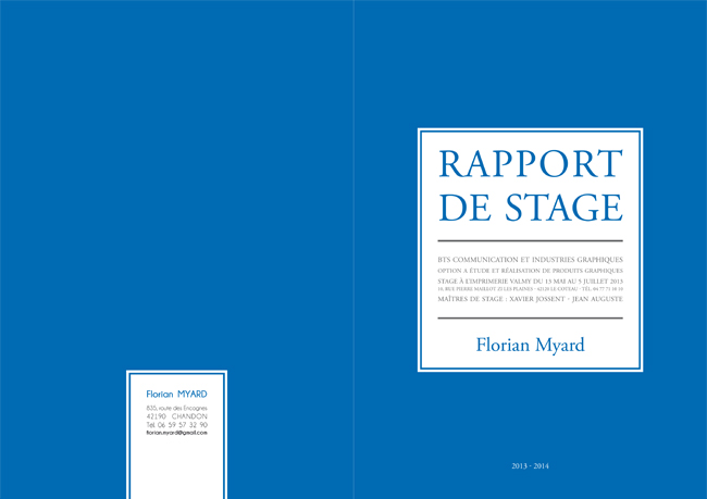 Couverture Rapport De Stage Pictures to pin on Pinterest